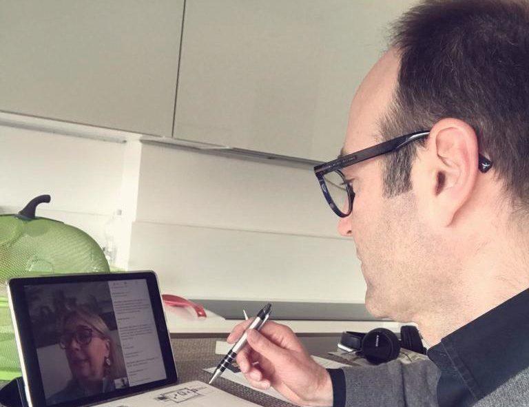 Federico Caner videoconferenza