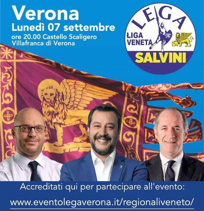 Banner evento a Villafranca
