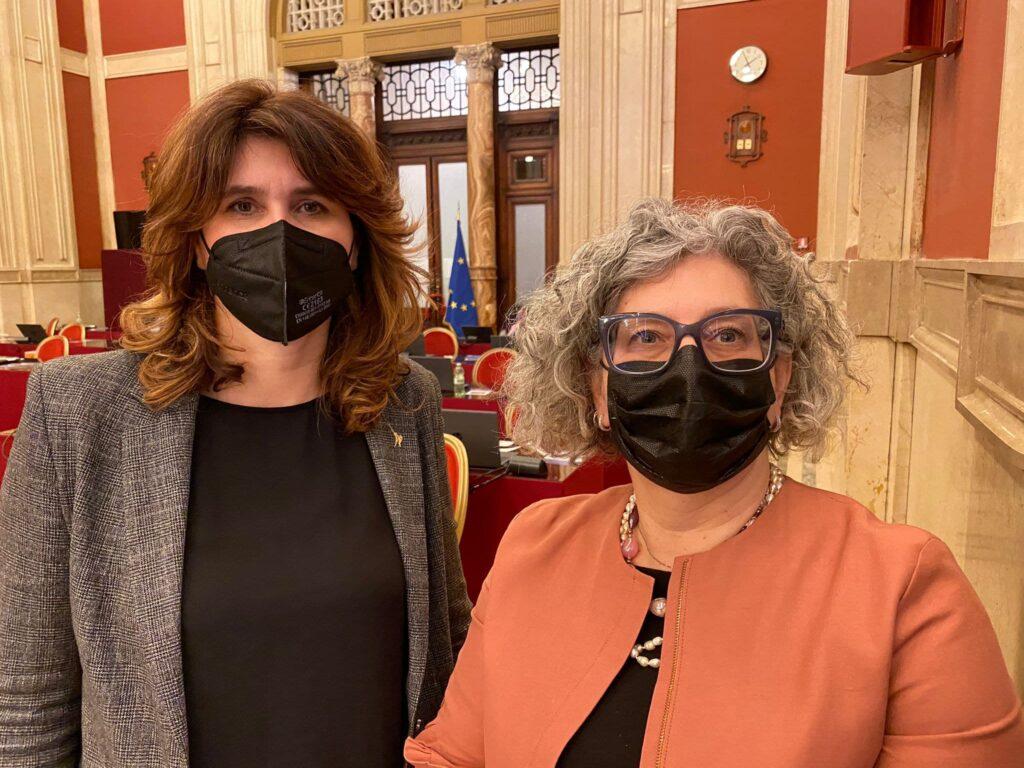 Giorgia Andreuzza e Ketty Fogliani